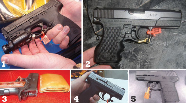 Conceal and carry guns from the 28th Annual SHOT Show
