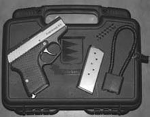 Concealed Firearm: The R-9 ships in a lockable hard case, with a cable lock, two mags and an extra recoil spring