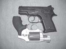 CCW Guns: The CZ 2075 RAMI is similar in size to an S&W J-frame snub nose revolver