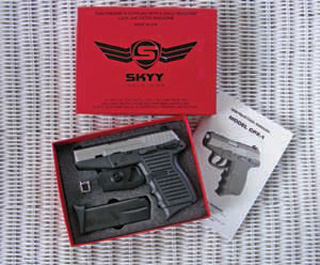 Conceal and carry guns from Skyy Industries.
