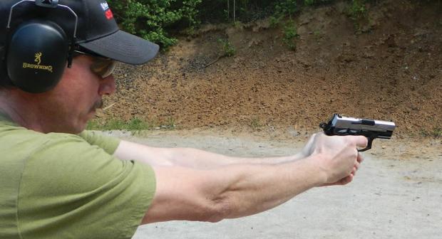 Ronald Freeman demonstrates excellent trigger control.