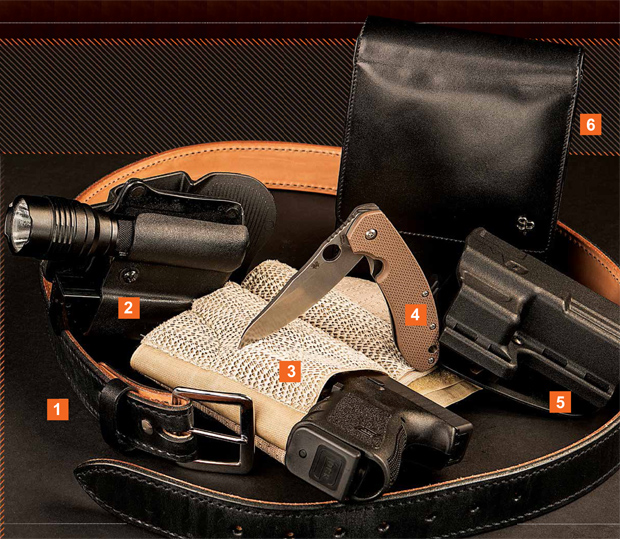 Gear We Love — From Disse Amerihide Belts to Sneaky Pete Holsters