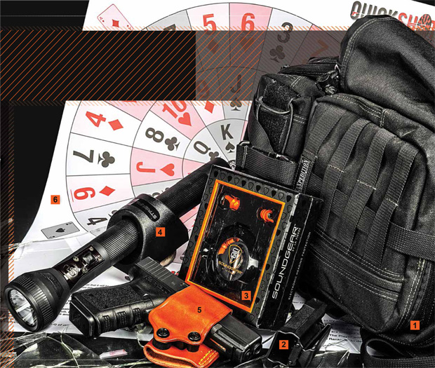 Gear We Love — from Maxpedition Gearlsinger to SoundGear Hearing Protection to Quick Shot Targets.