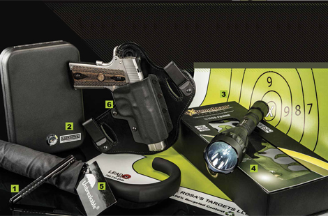 Concealed Carry Gear We Love — from the CountyComm Embassy Pen to Guns & Rosa's Targets to the Hidden Hybrid HHS1.