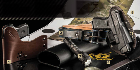 Gear We Love — from the SwapRig Cargo Holster to the Elzetta Bravo Tactical Flashlight to the Crossbreed Purse Defender.