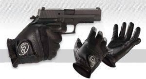 GripSwell Shooting Gloves with Palm Pad