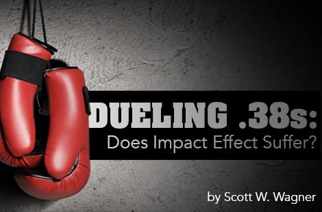 Dueling .38s: 2-Inch J-Frame vs. 4-Inch K-Frame. Does Impact Effect Suffer?