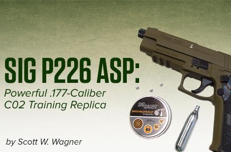 SIG P226 ASP: Powerful .177-Caliber C02 Training Replica