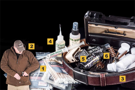 Gear We Love — from G-Tip Gun Cleaning Swabs to the Ares Ageis Crossover Belt to the Skyline Folklore Multi-Gun Cleaning Kit.