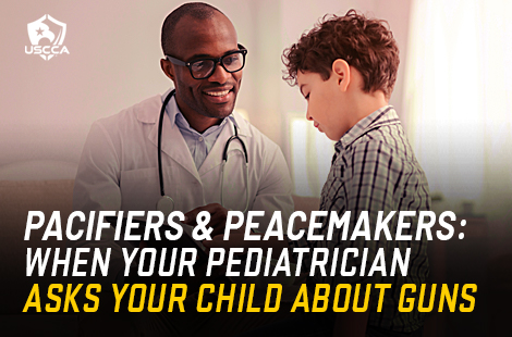 Your Child's Doctor Wants to Know: Are There Guns in Your Home?