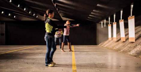 When it comes to shooting, the differences between women and men don't end at physical stature and wrist strength. More often than not, different instruction styles can be beneficial.