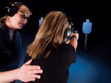 """""""How in the world did I become a firearms instructor?"""" she questioned herself. """"I'm just a mom!"""""""