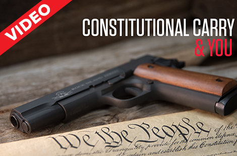 Constitutional Carry and You