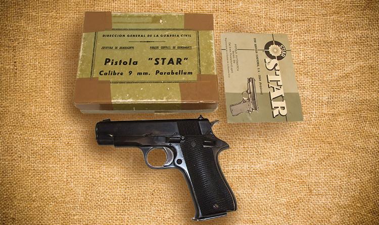 "The Star Model BM 9mm ""1911"" — A Classic Military Pistol Returns"
