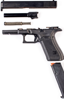 The most obvious change to the G17 Gen 5's design is the flat front strap, which will endear it to many shooters who were never fans of the finger grooves present on earlier models.