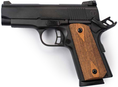 Though the largest of the three, the Taylor is still compact enough for easy concealment, and that extra size and heft doesn't hurt any on the firing line. A pistol you are more likely to train with is a pistol with which you are more likely to land your shots.