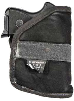 Firearm in a pocket holster