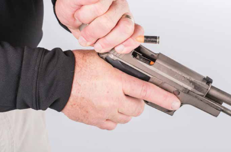 Hot & Cold: Loading and Unloading a Pistol