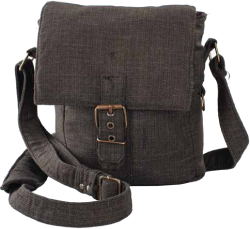 Some firearm-oriented shoulder bags, like this model from Falco, are inconspicuous to the point of invisibility.