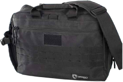 Drago's Tactical Laptop Briefcase is an excellent option for carrying a personal computer to and from work, but it is also a quality option when you're looking to transport folders, documents and other instruction materials to and from the range.