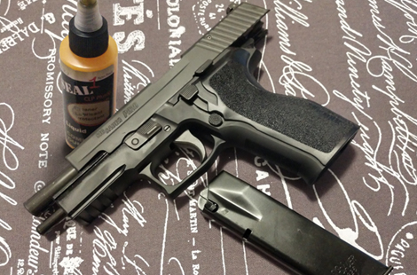 How to Clean a SIG P226