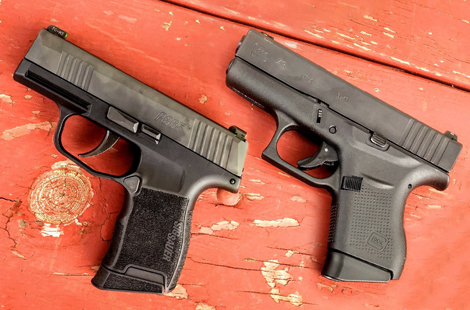 Firearms Face-Off: Glock 43 vs. SIG P365