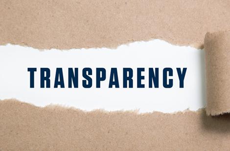 Beware 'Transparency'