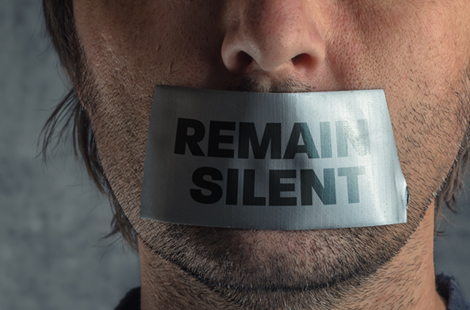 Your 5th Amendment Right to Silence Is Golden
