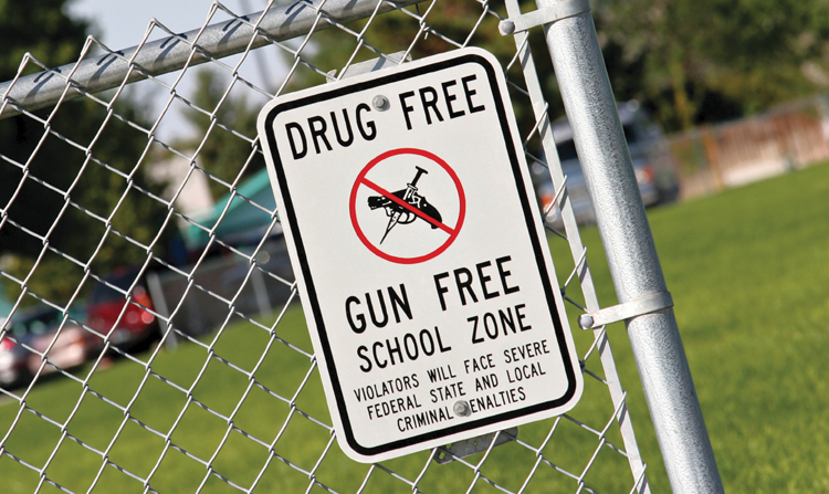 Carrying in Gun-Free Zones