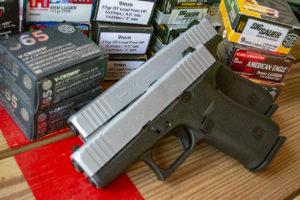 Glock 43X and ammo