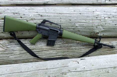 The Brownells BRN-601 Retro 5.56 Rifle