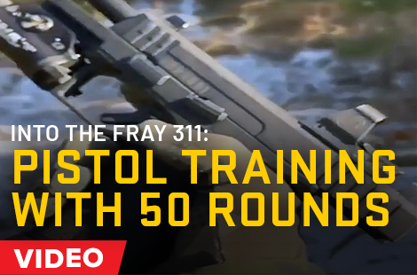 Pistol Training With 50 Rounds