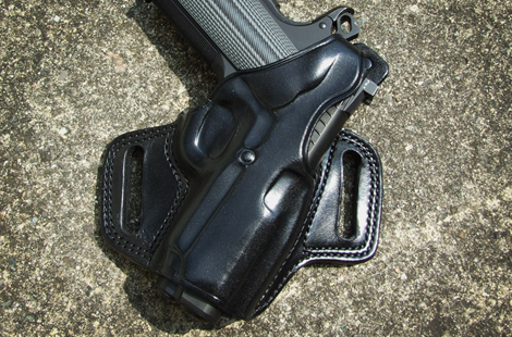 Galco Fletch High Ride Belt Holster for OWB