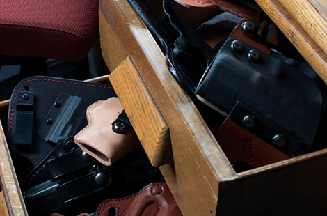 Piles of Concealed Carry Holsters