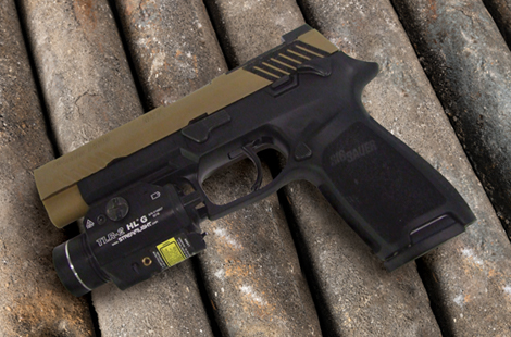 The SIG Sauer P320 M17: Now Available As a Do-It-Yourself Two-Tone!