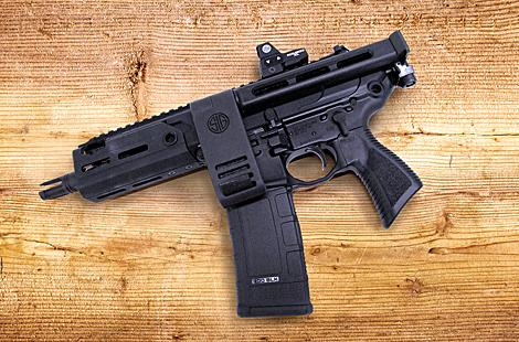 SIG Sauer .300 BLK MCX Rattler PCB Pistol