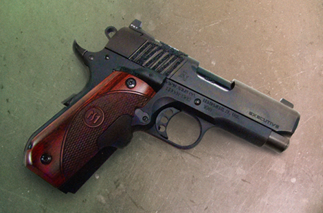 Crimson Trace LG-903 Green Master Series Rosewood Lasergrips