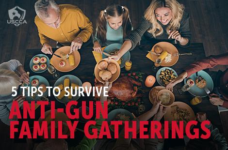 5 Tips to Survive Anti-Gun Family Gatherings