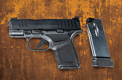 The Springfield Armory Micro-Compact 9mm Hellcat