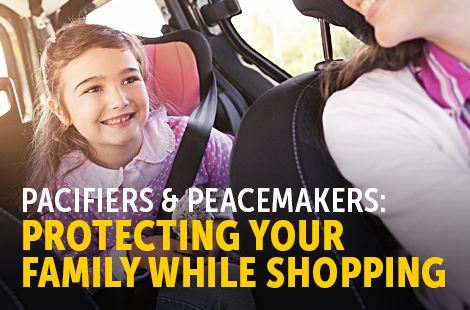 Protecting Your Family While Shopping
