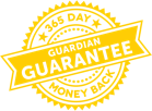 365 Day Guardian Guarantee Money Back Seal