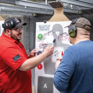 Handgun Counselor Target Instruction