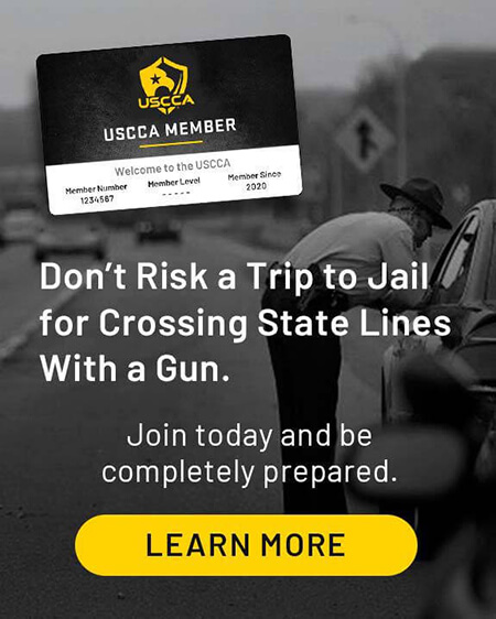 Don't Risk a Trip to Jail for crossing state lines with a gun.