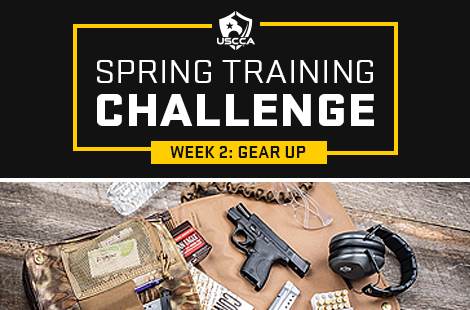 Spring Training Challenge Week 2: Gear Up for Personal Defense