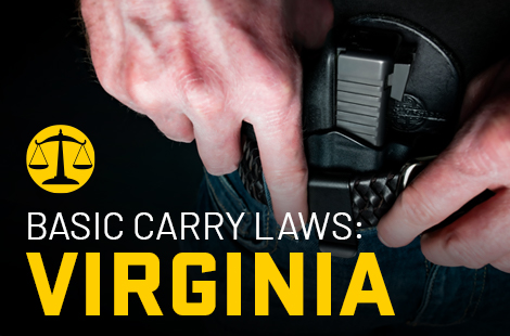 Basic Carry Laws: Virginia
