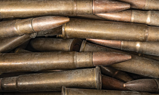 Corrosive rifle rounds