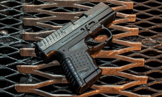 striker-fired handgun
