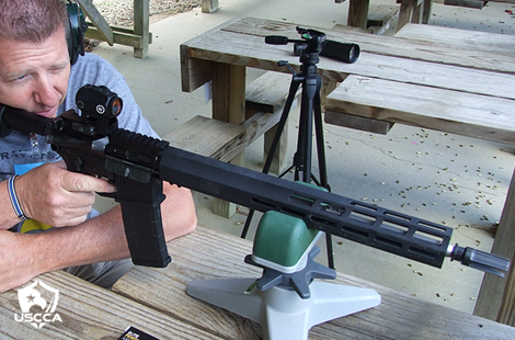 The 5.56mm SIG SAUER M400 TREAD Rifle