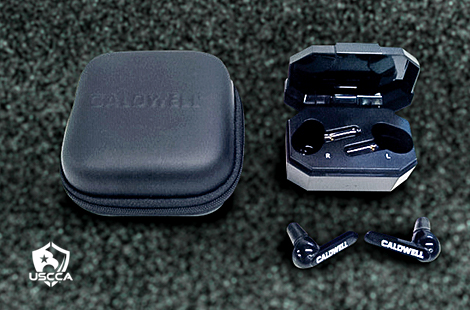Caldwell E-Max Shadows Bluetooth Noise-Reducing Earplugs