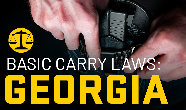 Basic Carry Laws: Georgia